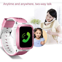 High Quality 2018 Crystal Y21S Intelligent Photo Taking Step Safety Dual Positioning Child Phone Watch Gift Dropshipping(China)