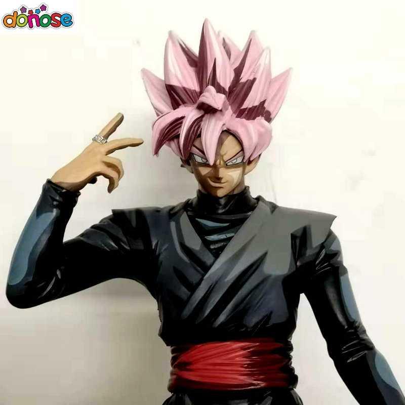 Dragon ball Z Diorama супер матер звезды Saiyan Роза Гоку черный фигурку ПВХ Коллекционная модель игрушки
