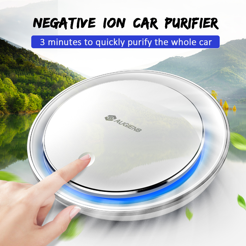 New Mini Car Air Purifier with HEPA Filter Negative Ion Purifier Oxygen Aromatherapy Removes Dust Bacteria for Ultra Silent New Mini Car Air Purifier with HEPA Filter Negative Ion Purifier Oxygen Aromatherapy Removes Dust Bacteria for Ultra Silent