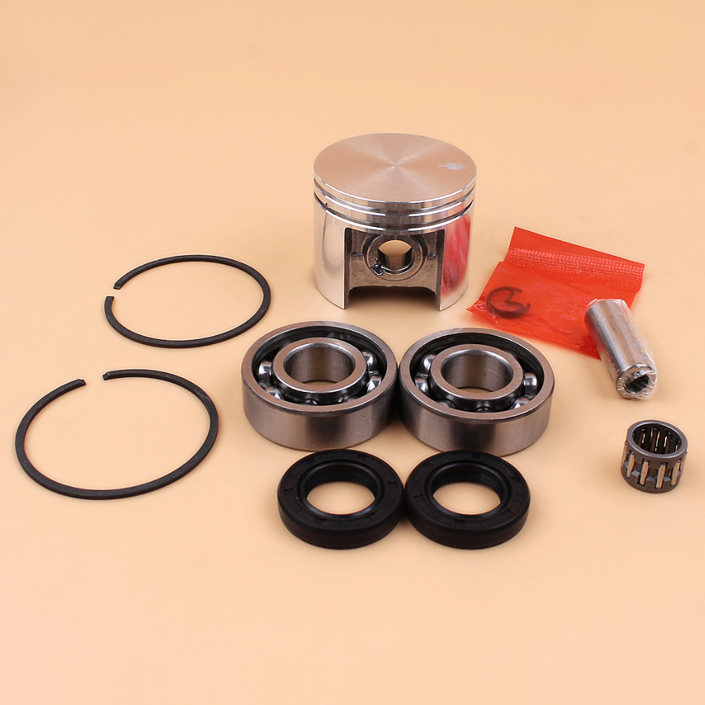 42.5mm Piston Rings Bearing Oil Seal Set Fit STIHL MS250 MS 250 025 Chainsaw Replacement Parts NEW
