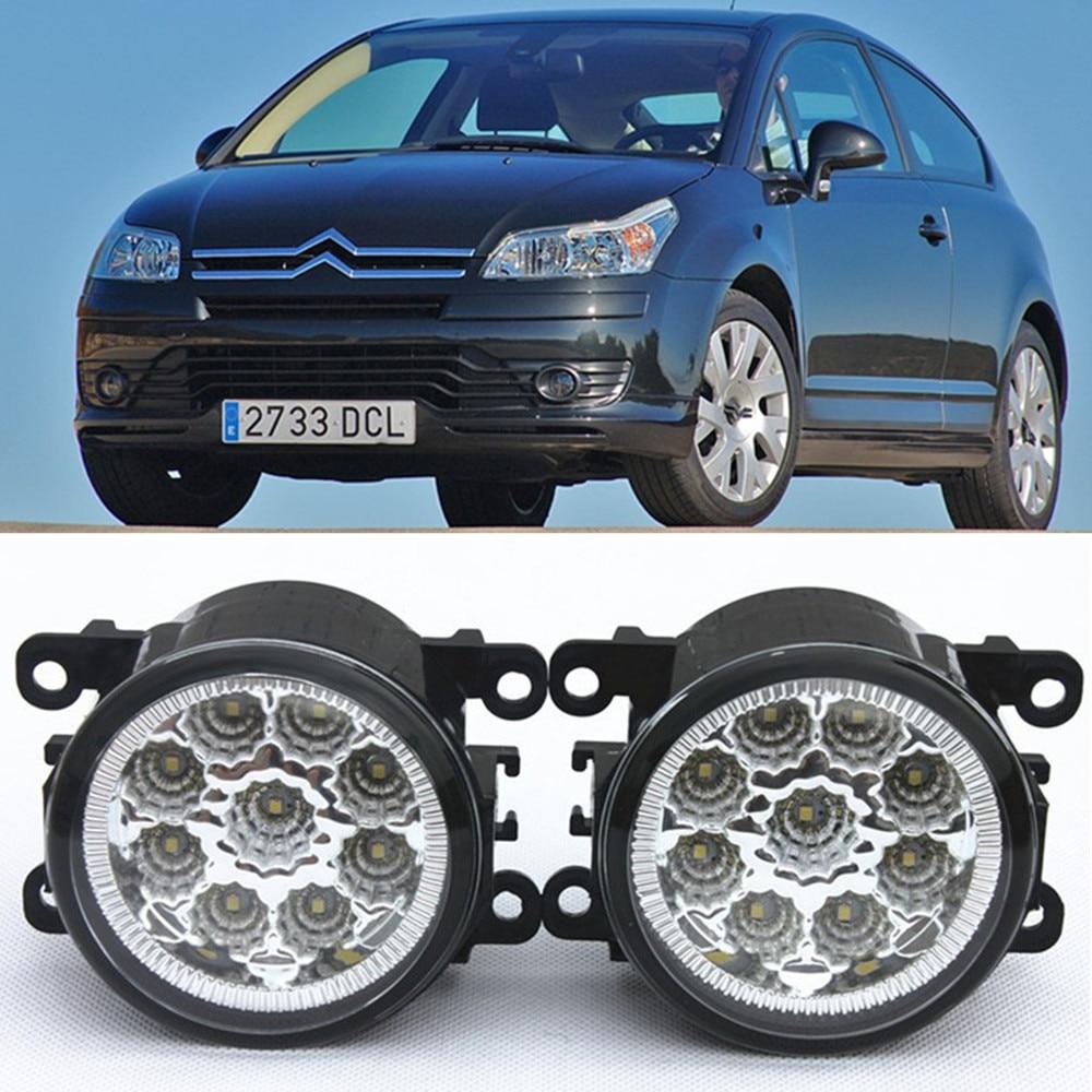For CITROEN C4 Grand Picasso UA_ MPV  2006-2015 Car-Styling Led Light-Emitting Diodes DRL Fog lamps 1set коврик в багажник citroen grand c4 picasso 09 2006