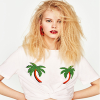 Nuevas Señoras Del estilo Del Verano de La Camiseta Mujeres Tops Casual Tee Shirt Señora de La Mujer Femenina camiseta lager tamaño ventas calientes