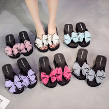 Butterfly Women Sandals Platform Wedges Sandals Slippers Spring/Summer Flip Flops Female Shoes Casual Lady Shoes Woman Footwear цена и фото
