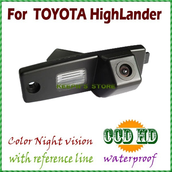 for sony CCD night vision wireless wired CAR REAR VIEW CAMERA parking reverse assist FOR  Toyota Highlander /Kluger /Lexus RX300