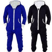 Winter Men's Plus Size Home Jumpsuit Pajamas Unisex Adult Casual Lounge Clothes Men underwear homewear pyjamas Sets 122903