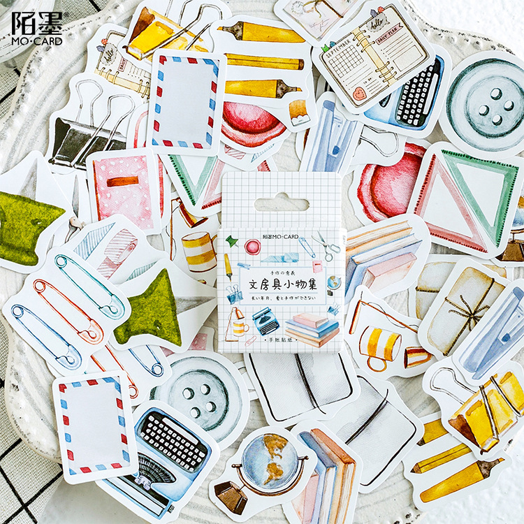 Study Articles Decorative Washi Stickers Scrapbooking Stick Label Diary Stationery Album Stickers