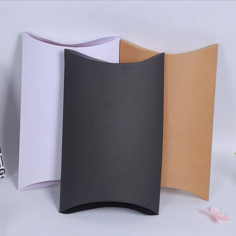 Qi Large Size Pillow Packing Box 27 21 5cm Exquisite Black Gift Packaging Box Party Wedding