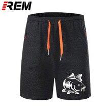 REM fajne szorty spodnie męskie krótkie majtki karpia wędkarz zrujnował moje życie wędkarz zainspirowany szmatki załogi skanery breechcloth