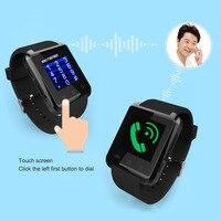 ذكية ووتش smartwatch بلوتوث s5 u gsm sim لسامسونج s4/ملاحظة 3 htc الروبوت/ويندوز الهواتف smartwatch الذكية u8 DZ09 gt08