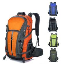 2017 40L Waterproof Nylon Travel Hiking Backpack Climbing Rucksack Camping Equipment Hiking Cycling Outdoor Sports Bag