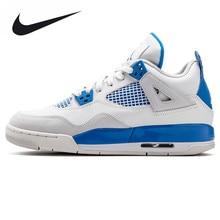 Nike Air Jordan 4 Retro Original Men's Basketball Shoes, Shock-absorbing Outdoor Sports Shoes 308497 105