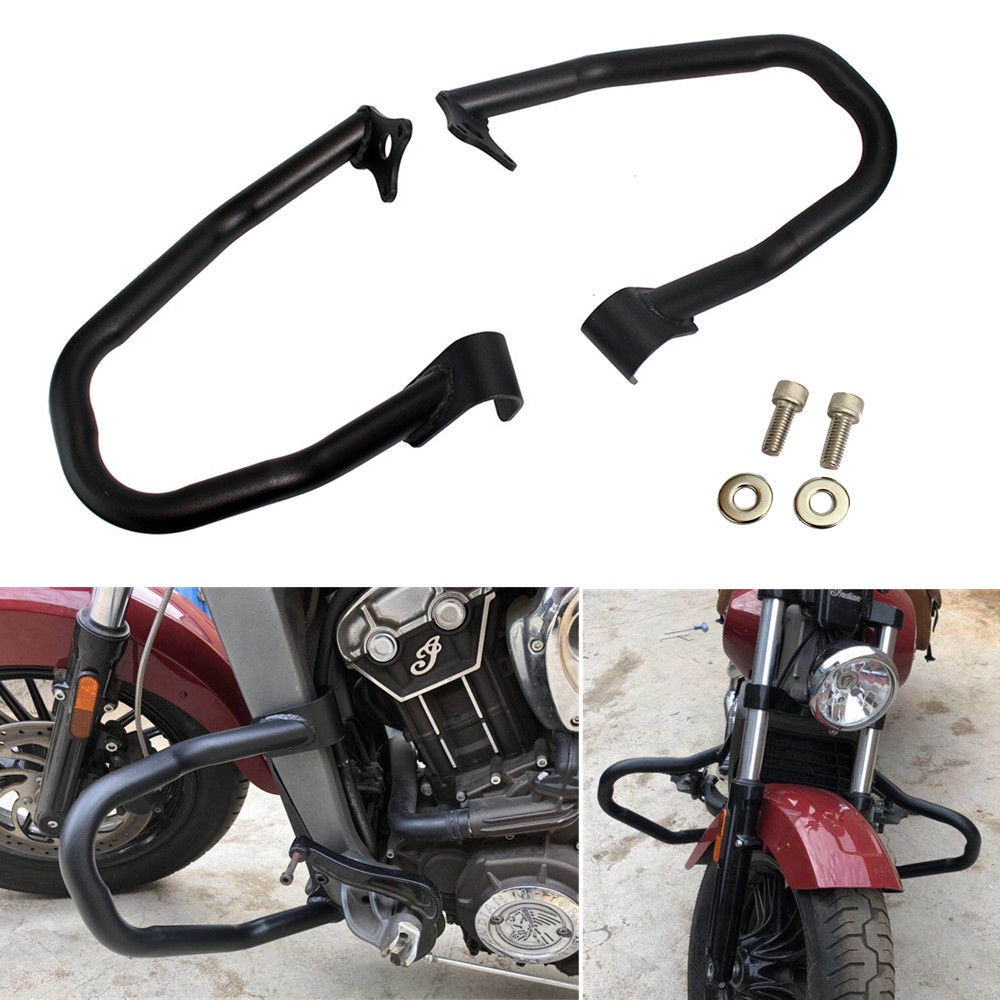 Motorcycle Engine Guard Highway Crash Bar bumper Protector For Indian Scout 2015-2018 Scout Sixty 2016-2018 2017Motorcycle Engine Guard Highway Crash Bar bumper Protector For Indian Scout 2015-2018 Scout Sixty 2016-2018 2017