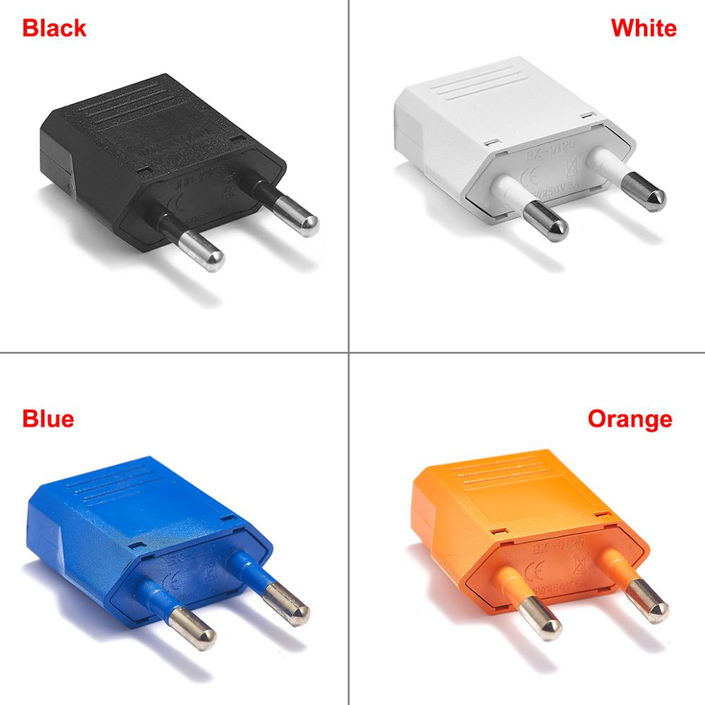 US To EU Plug Adapter Converter American Japan Euro European Type C Travel Adapter Power Electric Plug Sockets AC Outlet