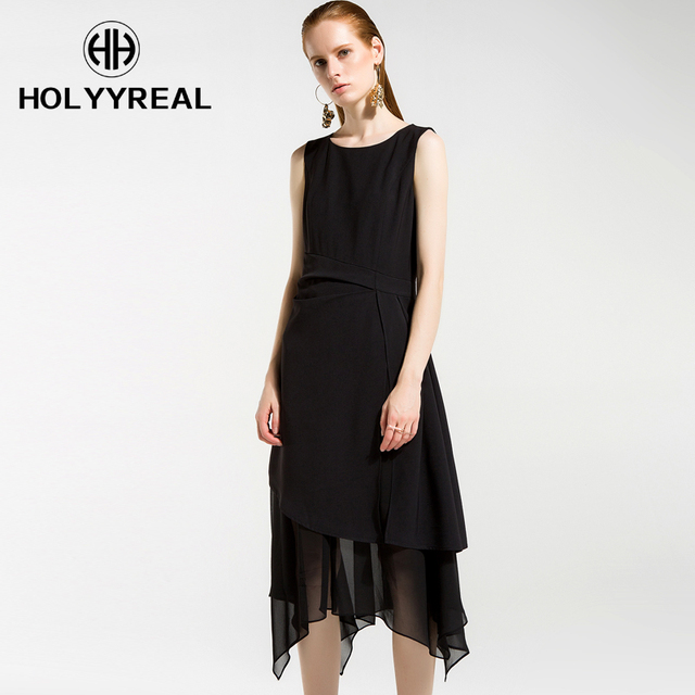 Holyyreal 2018 Spring Summer New Collection Ladiess Little Black