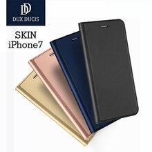 Dux Ducis Роскошный Кожаный Чехол Для iPhone 7 Чехол для iPhone 6 дело 6 s Плюс Мода Откидная Крышка для iPhone 6 6 s 7 Плюс Coque