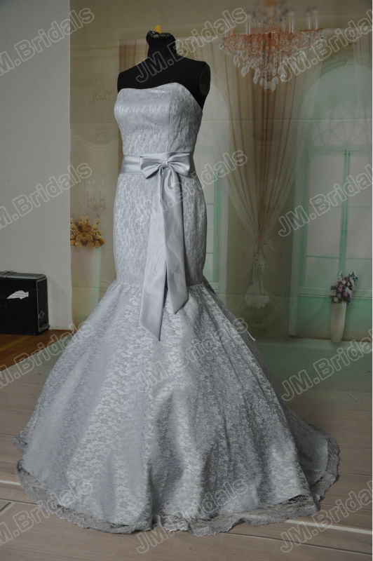 Grey Lace Wedding Dresses - Wedding Dress Ideas