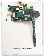 Русский язык! ~ разблокированная оригинальная материнская плата для samsung Galaxy Note 2 N7105 4G LTE плата