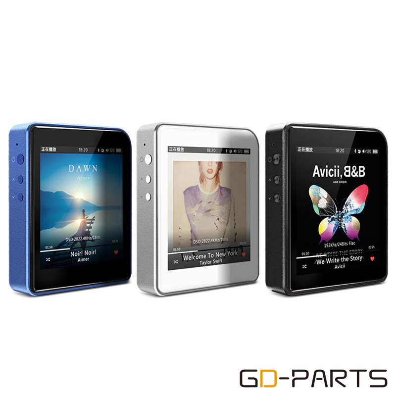 Shanling M1 Mini Portable Hi-Res MP3 Player Hifi DAP DAC DSD MP3 WMA APE Lossless Music Player Bluetooth 4.0 APTX