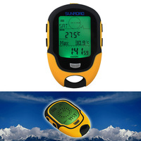 Waterproof FR500 Multifunction LCD Digital Altimeter Barometer Compass ARE4