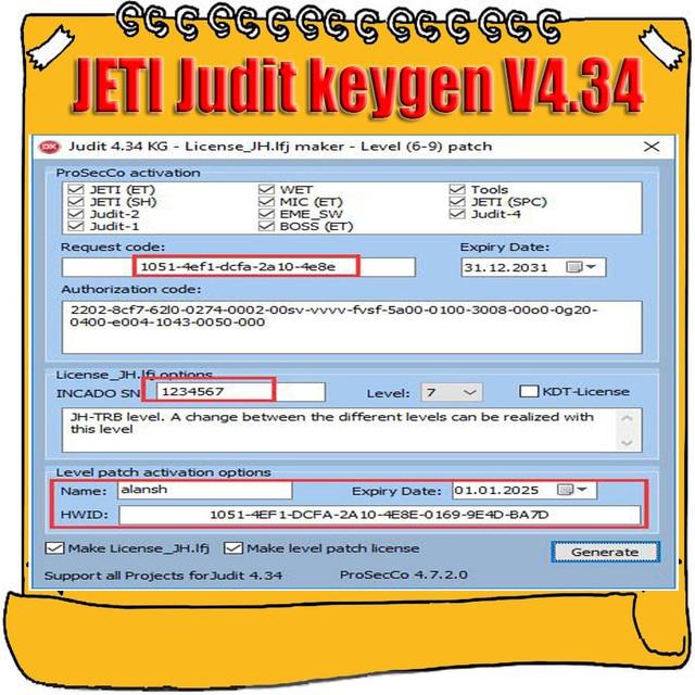 2019 الساخن بيع ل Jungheinrich (JETI) judit 4 v4.34 ترخيص و ET SH كجن License_JH.lfj صانع مستوى 6 9 التصحيح