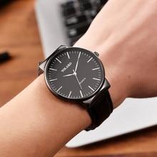 Retro Unique Quartz Unisex Watch Leather Strap Sport Watches Clock Men women Fashion Business Wristwatch Relogio Masculino цена