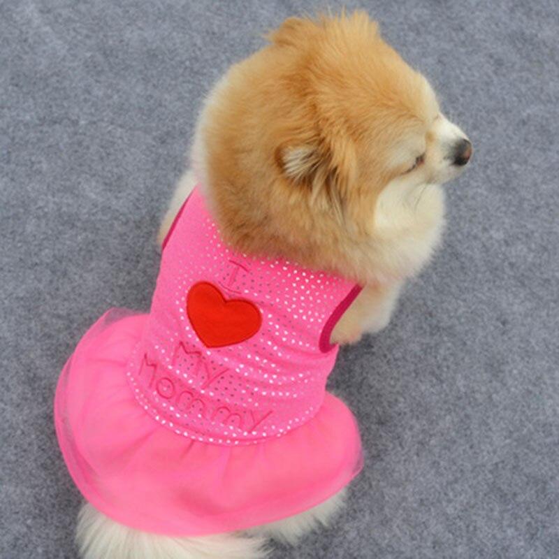 Projeto o mais novo Pequeno Pet Cães Vestuário Colete Filhote de Cachorro Gato Roupas Casaco T-shirt Vestido de Colete de Verão