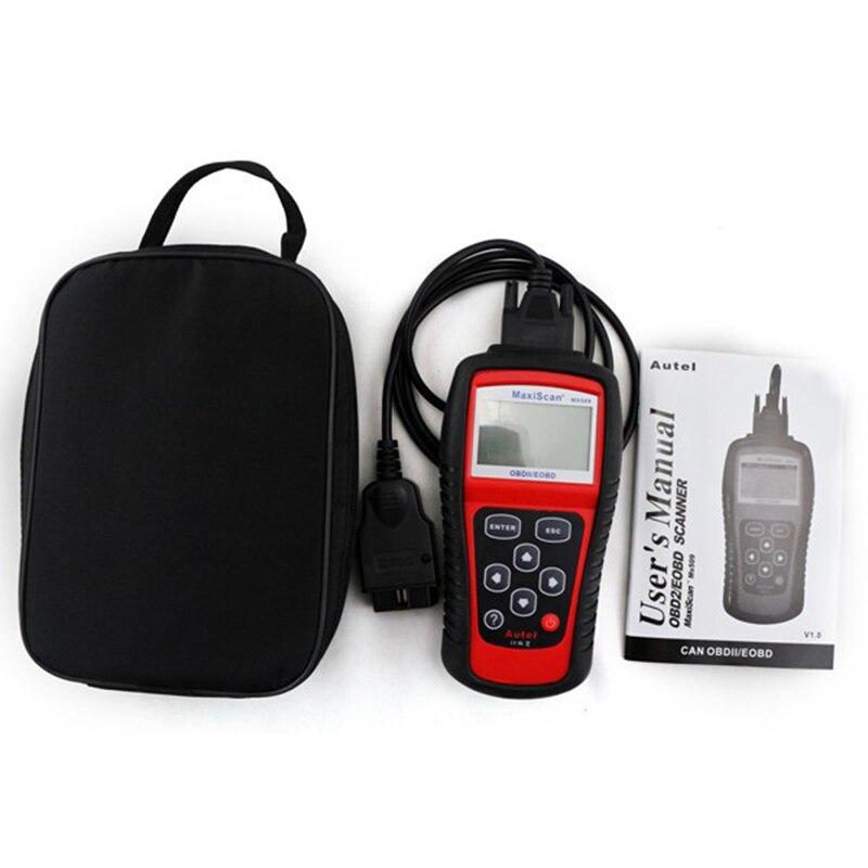 Autel MaxiScan MS509 Car/автомобиля OBD2 неисправности диагностический сканер Авто диагностический инструмент OBDII Читатели код и Scan инструменты