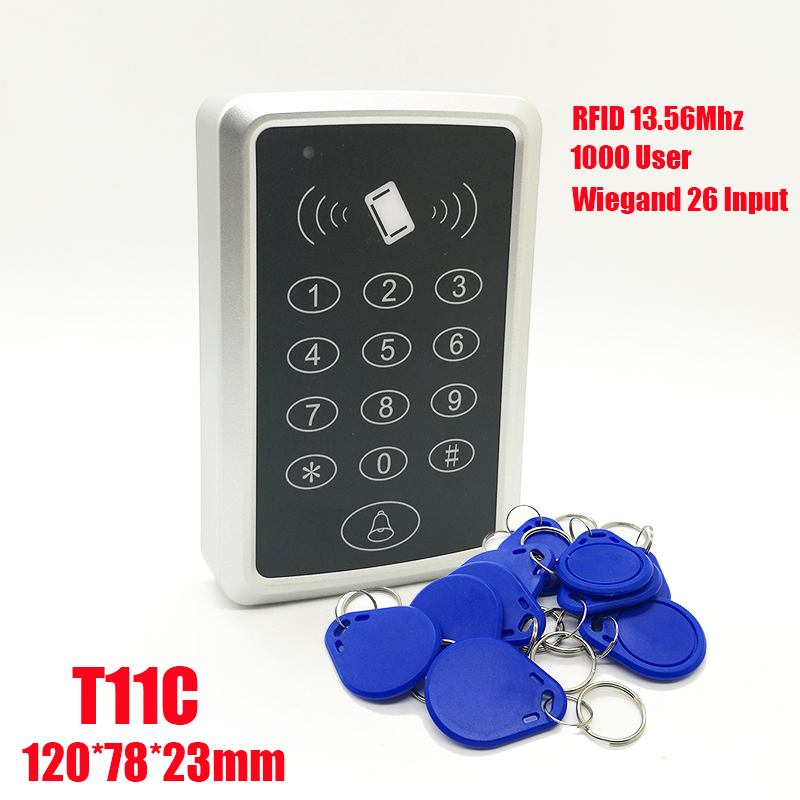 13.56Mhz RFID Proximity Card Access Control System IC card Keypad Card Access Controller Door Opener Master Controller