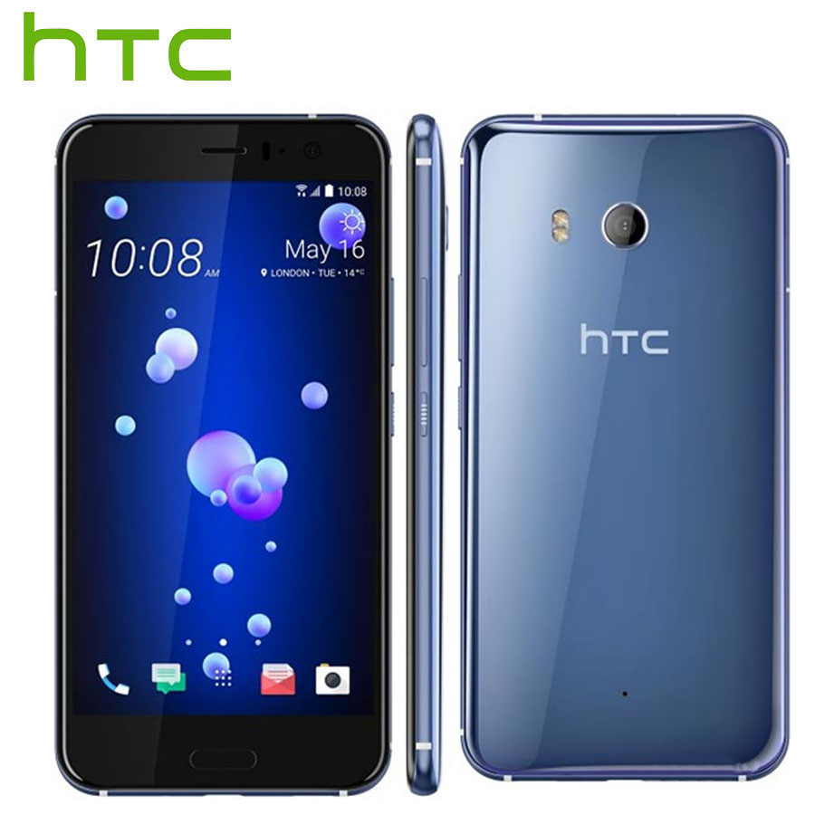 Sprint Version HTC U11 4G LTE Mobile Phone IP67 Snapdragon 835 Octa Core 4GB RAM 64GB ROM 5.5 inch 2560x1440P Android Smartphone image