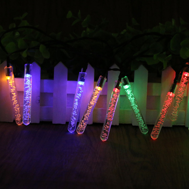Us 10 99 35 Off Sanyi 20 Leds Solar String Lamp Led Fairy Light Strip Ambiance Lighting Holiday Garden Lawn Wedding X Mas Party Decoration In