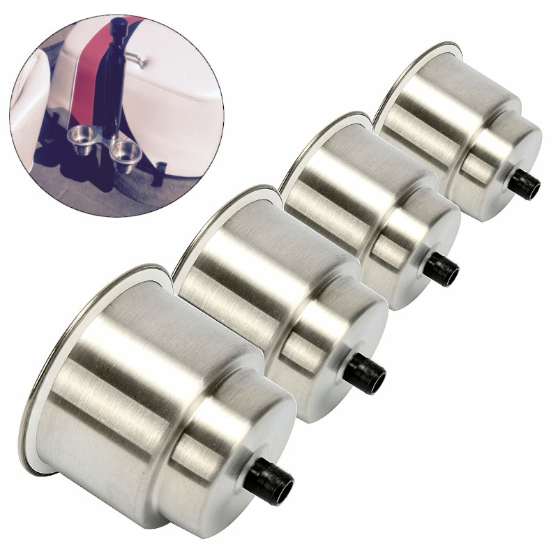 Stainless Steel Cup Drink Holder boat accessories marine Car Truck RV Camper Silver Cup Holder 4 pieces