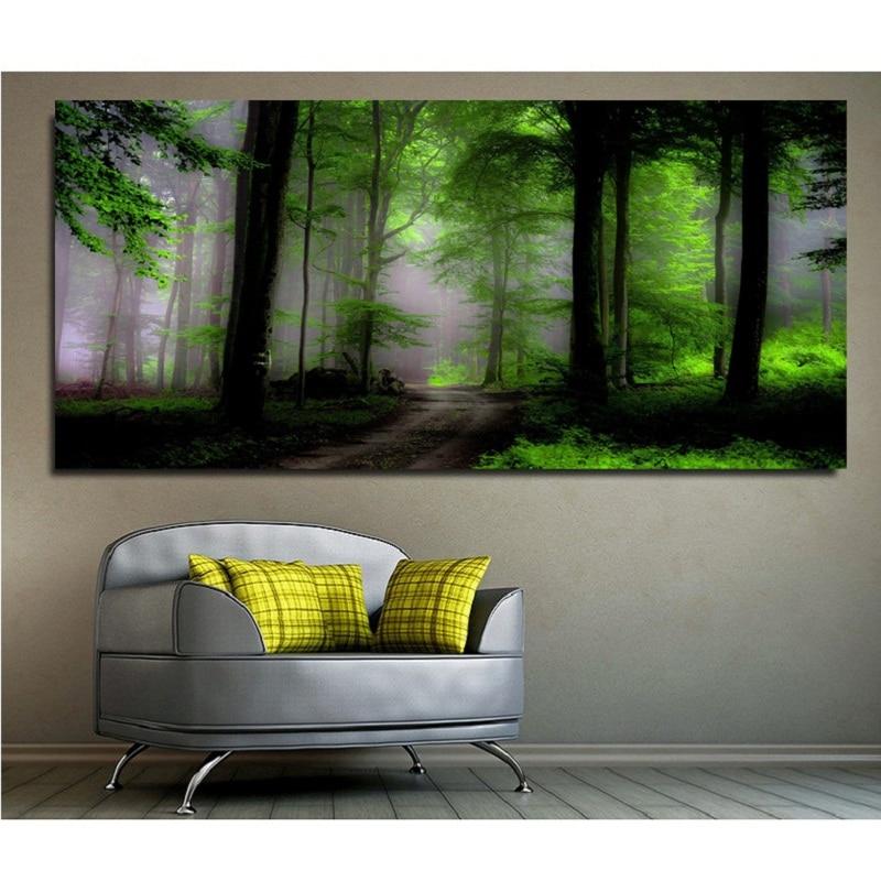 5d diy bordado de diamante bosque oscuro fotos decoración del hogar - Artes, artesanía y costura