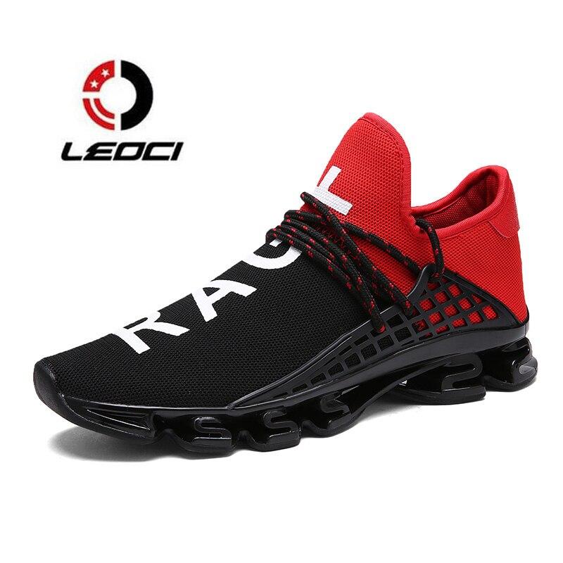Blade Running Shoes For Men Breathable Sport Shoes Men Trail Running Sneakers Couple Running Shoes Zapatillas Hombre Deportiva