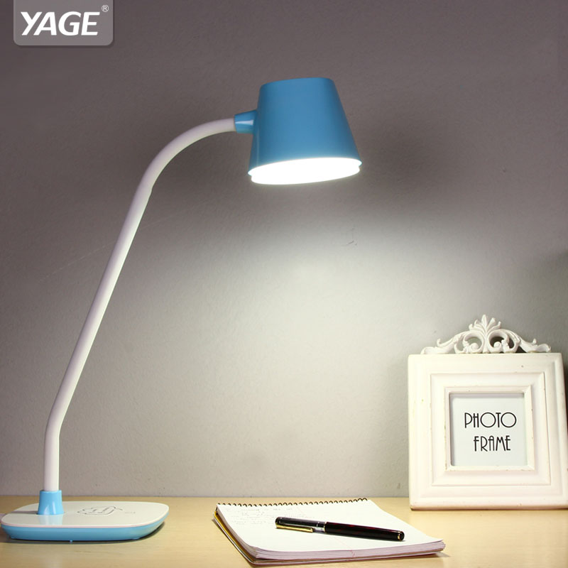 Yage Desk Lamp Led Reading Table Night Light Study For Work Non Limit Brightness Touch On Off Eu Usa Uk Plug
