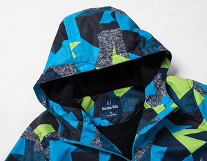 Image 4 - 2020 Childrens Warm Jacket Coat Winter Kids Boys Rain Outerwear Sports Hoodie Clothes Double deck Waterproof Boy Girl Jackets