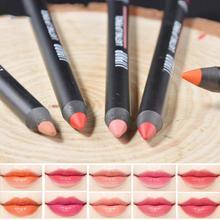 1Pc Multicolor Lip Liner Pencil Waterproof Colorful Matte Lip Pencil Functional Makeup Lip Cosmetic Lip Liners Pen YE1-5