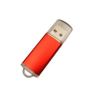 Image 3 - במהירות גבוהה USB פלאש מותאמת אישית מתכת Pendrive 4GB 8GB 16GB 32GB 64GB USB 2.0 חתונה Cle USB עט כונן (מעל 10pcs משלוח לוגו)