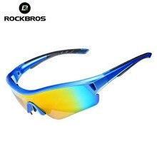 ROCKBROS Sports Sun Glasses Polarized Cycling Eyewear UV 400 Men & Women Bicycle Bike Sunglasses Myopia Frame Ciclismo 3 Lenses