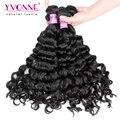 3Pcs/lot Peruvian Virgin Hair,Fashion Italian Curly Human Hair Weave,Aliexpress Yvonne Peruvian Curly Hair,Color 1B