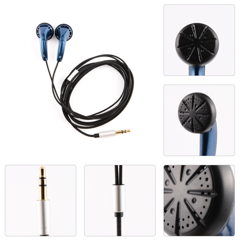 Hangrui K300 Earphone 300ohm High Impedance Flat Head Earpuds pk Monk Qianyun 25 earphones For Xiaomi huawei Smart Phones