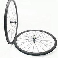DAIRS carbon road wheels 700C 30mm Straight pull powerway R36 18 21 24mm road bike wheelset 700C 3k UD matte glossy