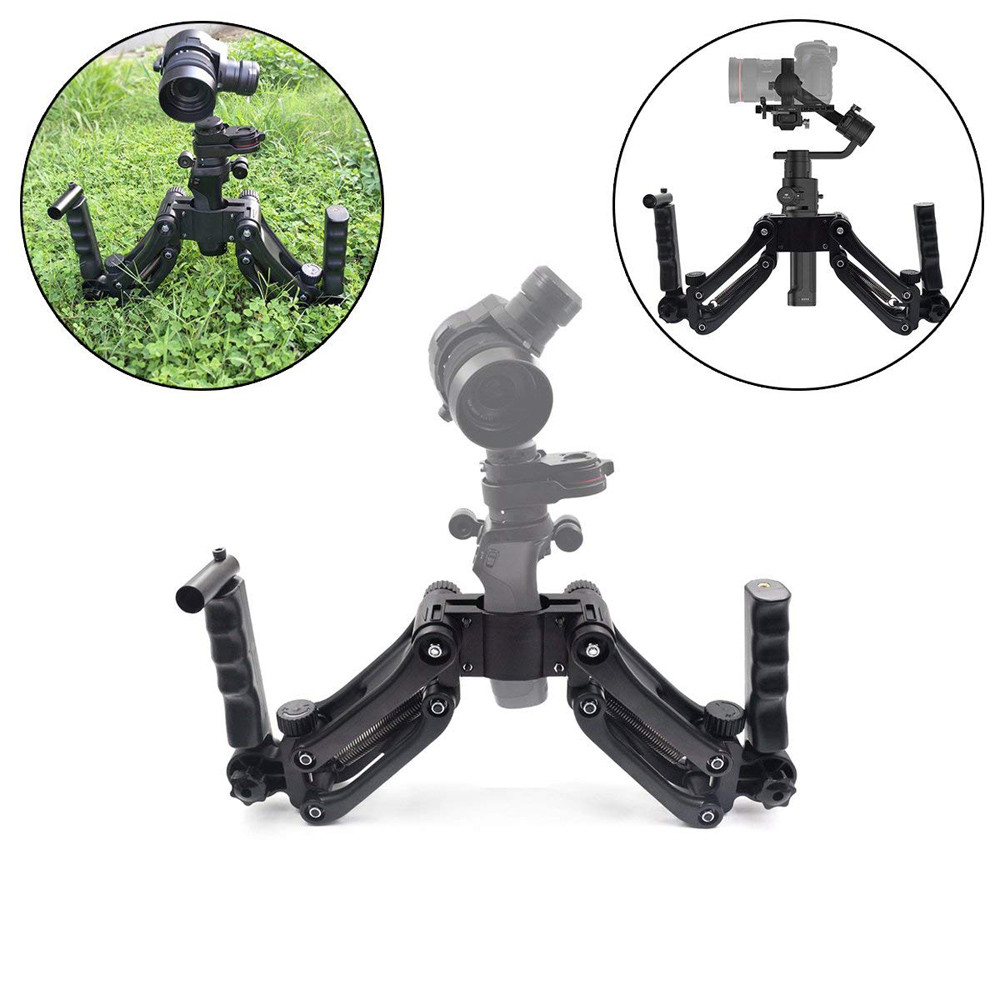 Handle Grip Handlebar Kit Extension Stand Mount Holder 4th Axis Gimbal Stabilizer For DJI Ronin-S OSMO Pro sept14  drop shippingHandle Grip Handlebar Kit Extension Stand Mount Holder 4th Axis Gimbal Stabilizer For DJI Ronin-S OSMO Pro sept14  drop shipping