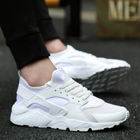 2017 Mens Sports Running Shoes Air Sneakers White Black Light Breathable Basket Tennis Walking Shoes Outdoor
