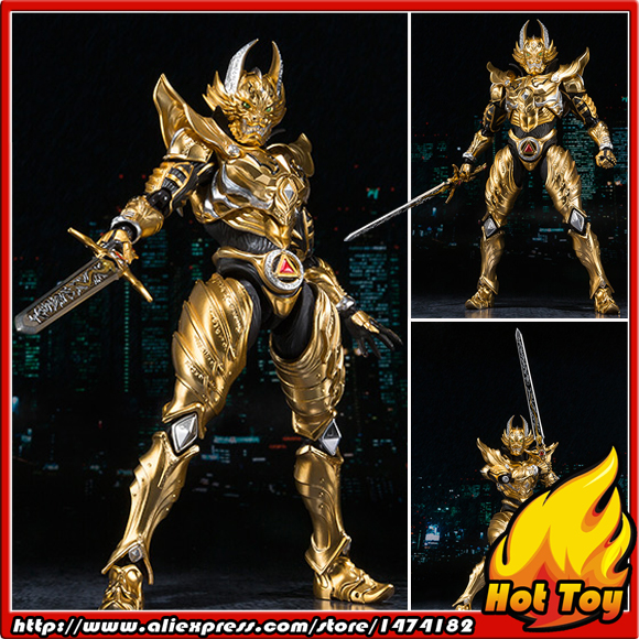 100% Original BANDAI Tamashii Nations S.H.Figuarts (SHF) Exclusive Action Figure - Garo Ryuga KONJIKI Ver. from GARO original bandai tamashii nations robot spirits exclusive action figure rick dom char s custom model ver a n i m e gundam