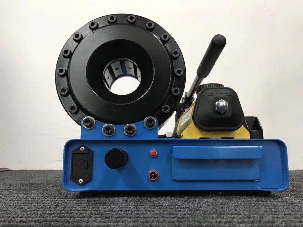 P16 modelo manual mangueira de friso ferramenta até 5/8 polegadas 4sp/sh mangueira hidráulica crimper com 6 conjuntos de dados|Ferramentas hidráulicas| |  - title=