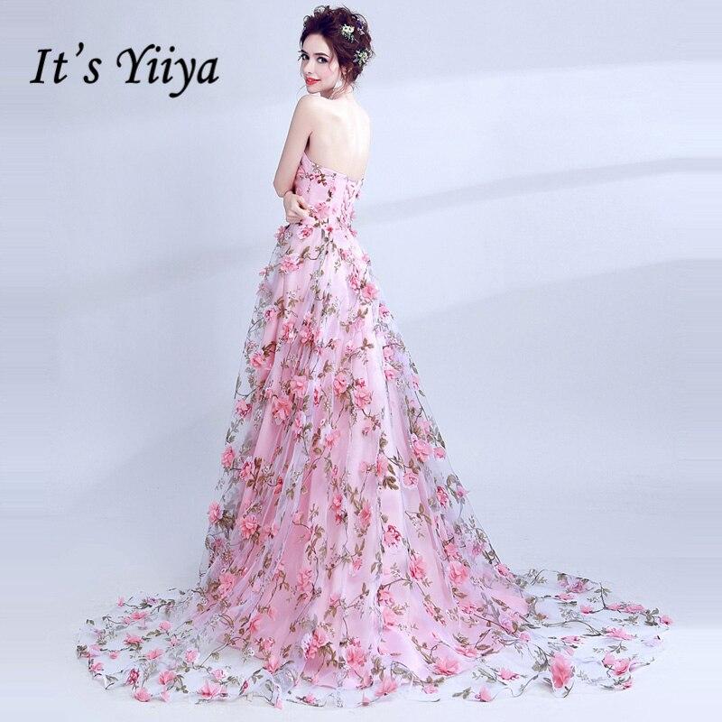 Designer Evening Dresses Sale On White: Aliexpress.com : Buy It's Yiiya Strapless Elegant Luxury
