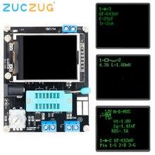 LCD GM328A טרנזיסטור Tester דיודה קיבוליות ESR מתח מד תדר PWM גל מרובע אות גנרטור SMT הלחמה