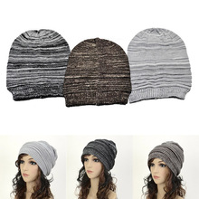 Для женщин и мужчин вязаная шапка мягкие эластичные теплые шапочки шапка для зимы и осени уличная IK88