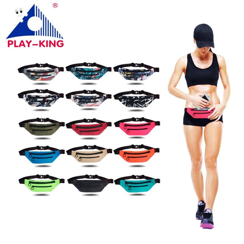 2019 Pink Waist Fanny Pack Bag For Women Men Waist Bag Money Belt Pouch For Canvas Fashion Waterproof Pouch Sports Running Bag