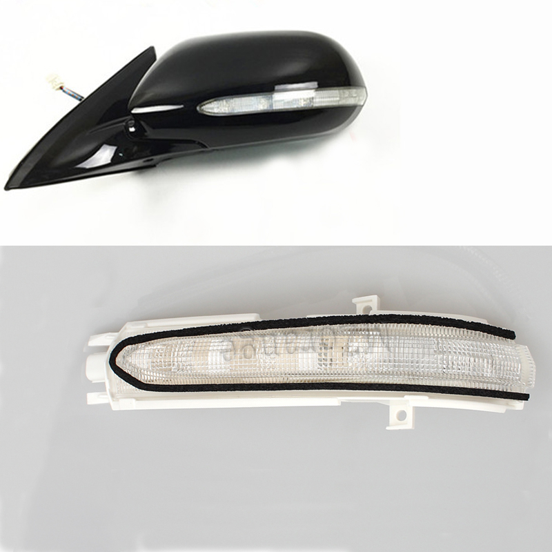 MZORANGE Car Styling For ACCORD CM4 CM5 CM6 2003 2004 2005 2006 2007 Side Mirror LED Lamp Car Rearview Mirror Turn Signal Light